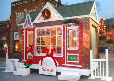 Santa House on Main Street